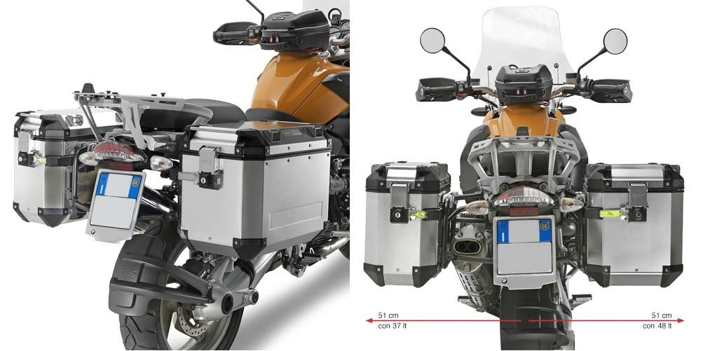 KL684CAM nosič bočních kufrů BMW R 1200 GS / Adventure (04-13)
