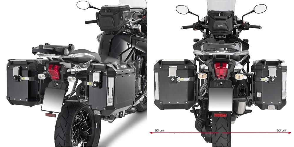 KL6408CAM nosič bočních kufrů TRIUMPH Tiger 1200 / Explorer 1200  (12-18)