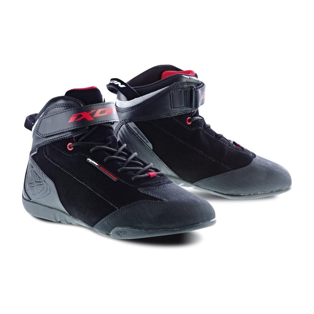SPEEDER WP - černé motocyklové boty IXON - 40