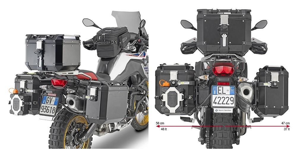 KL5127CAM nosič bočních kufrů BMW F 750 GS / 850 GS / Adventure (18-21)
