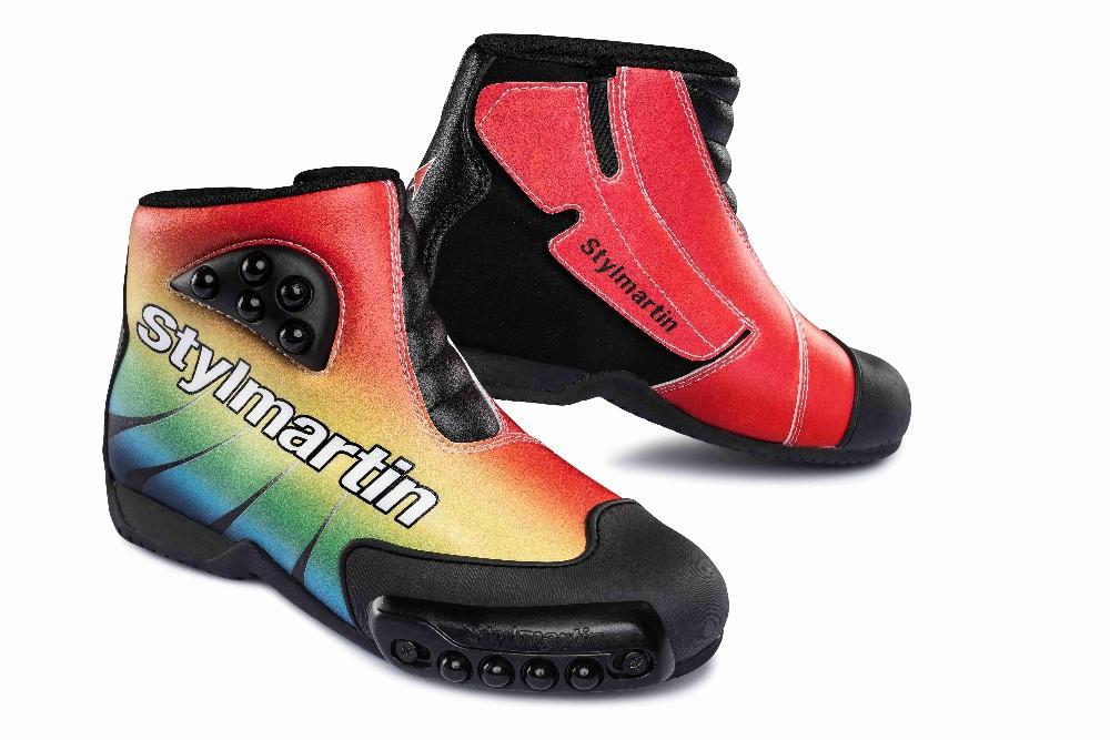SPEED EVO JR MULTICOLOR - dětské multicolor minibike boty STYLMARTIN - 29