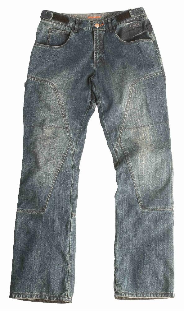SLAM E4529H - pánské modré moto jeans Ixon - XL