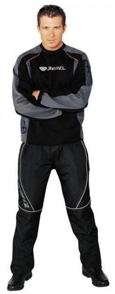 STRIDER - pánské černé moto kalhoty Ixon S
