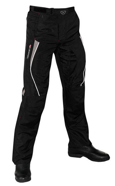 ROLLER - pánské černé moto kalhoty Ixon - L