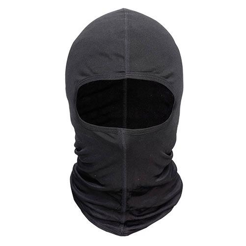 HAC209 - HOOD MASK černá textilní kukla HEVIK