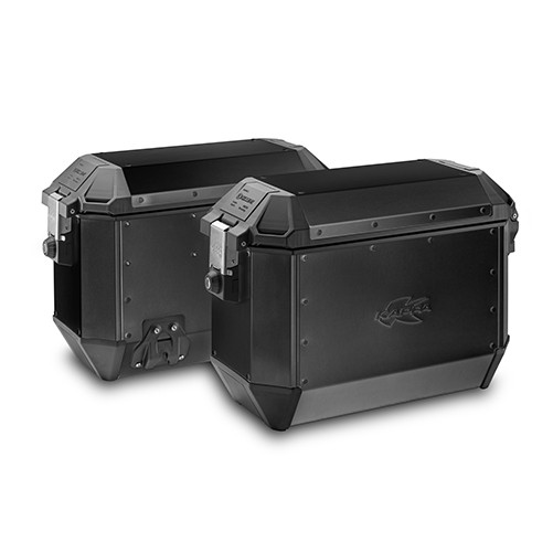 K´Mission KMS36BPACK2 - sada bočních hliníkových moto kufrů KAPPA