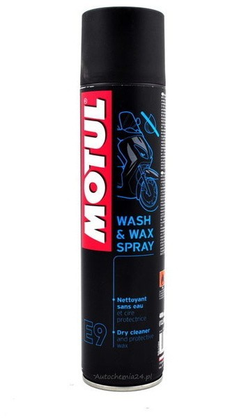 WASH & WAX SPRAY 400 ml - MOTUL