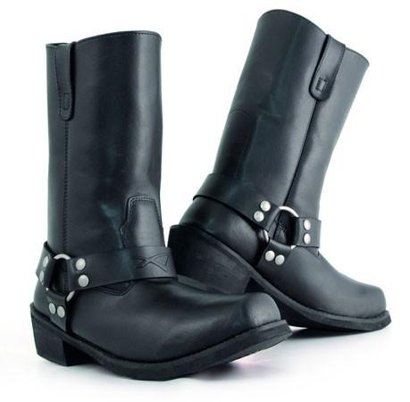 WALKER - černé motocyklové boty A-Pro - 44
