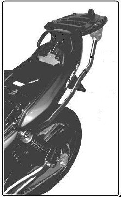 K4400 nosič kufru KAWASAKI ER 5 500 (01-07)