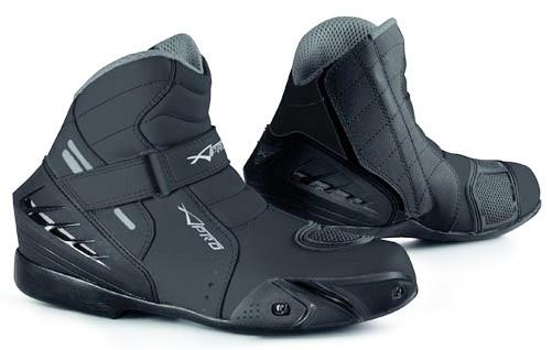 VORTICE - nízké černé sportovní motocyklové boty A-Pro 41
