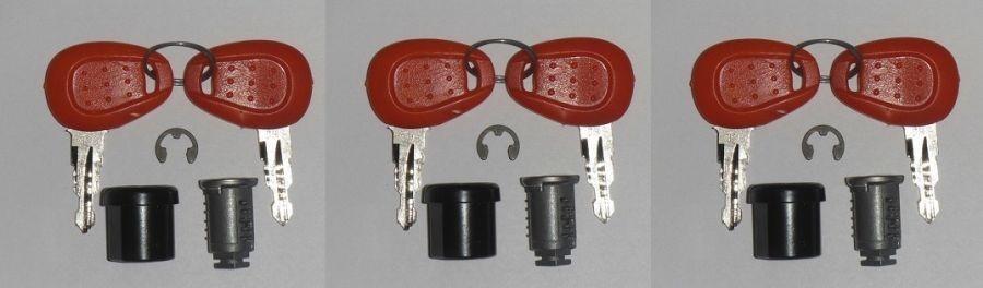 K502 - sada 3 náhradních zámků na kufry KAPPA