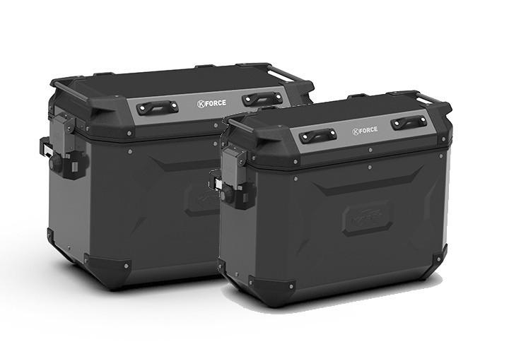 K´Force KFR4837BPACK2 - sada bočních hliníkových moto kufrů CAM-SIDE KAPPA