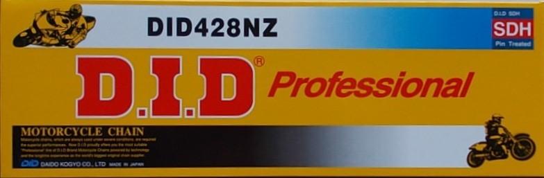 428 NZ2 silniční+enduro řetěz D.I.D. - 1 článek