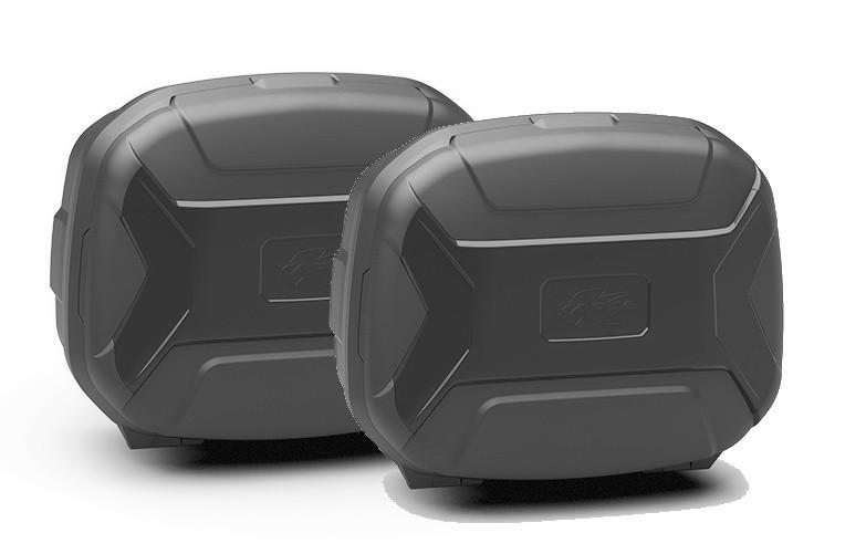 KVC35NPACK2 K-VECTOR - boční moto kufry Kappa