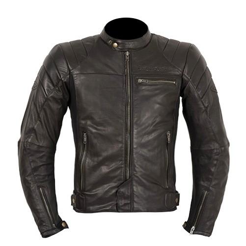 GHOST LADY - černá kožená moto dámská bunda PREXPORT - 40