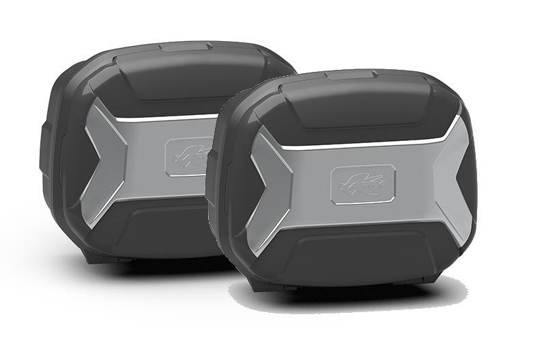 KVC35PACK2 K-VECTOR - boční moto kufry Kappa