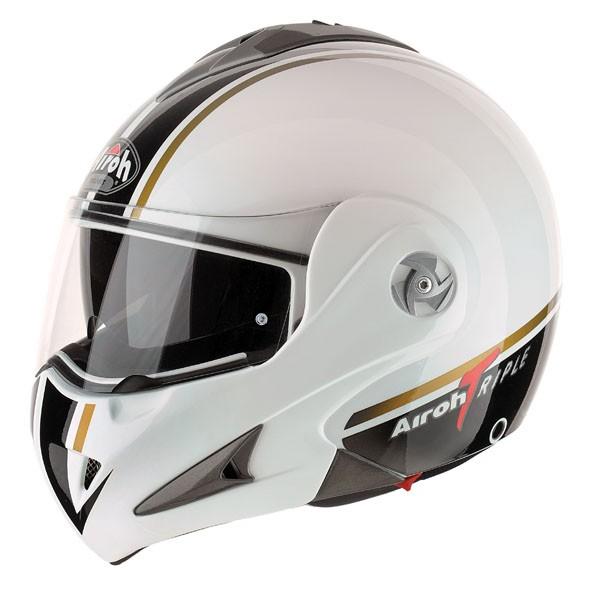 MATHISSE RSX  TRIPLE MTRSXT38 - výklopná helma Airoh - L