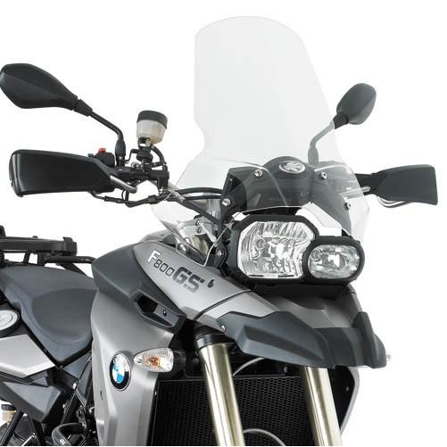 333DTK čiré plexi BMW F 650 / 800 GS (08-17)