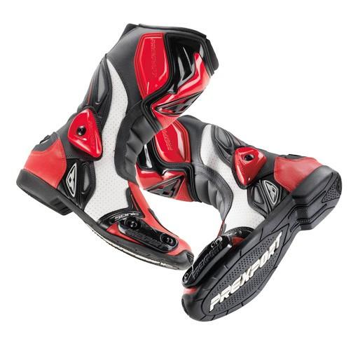 SONIC RD - červené motocyklové boty PREXPORT - 44