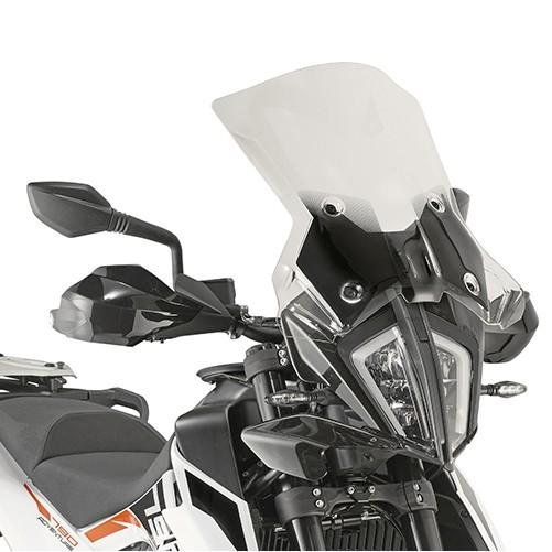 7710DTK čiré plexi KTM 390 / 790 Adventure / R  (19-20)