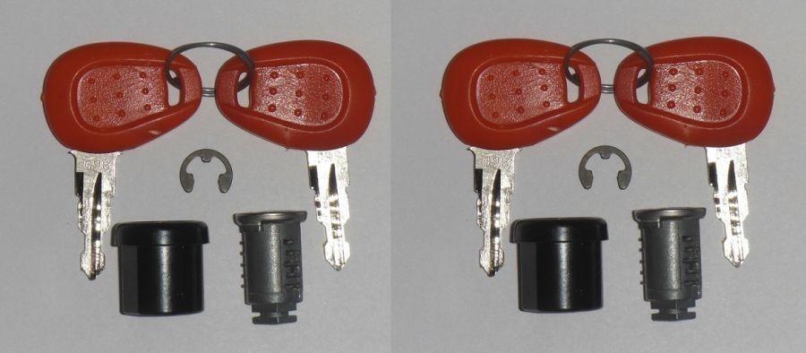 K501 - sada 2 náhradních zámků na kufry KAPPA