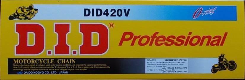 420 V silniční řetěz D.I.D. - 1 článek