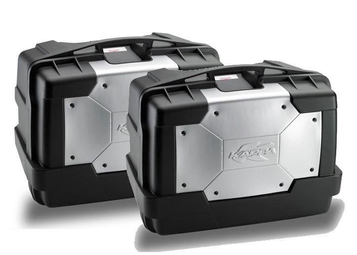 KGR46PACK2 GARDA - sada bočních motokufrů KAPPA