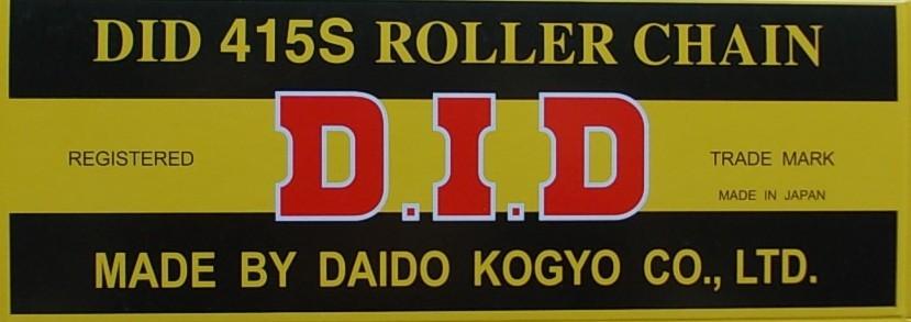 415 S silníční+enduro řetěz D.I.D. - 1 článek