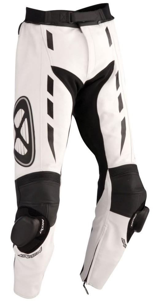 ADDICT PANT 2016 - bílé kožené kalhoty IXON XXL