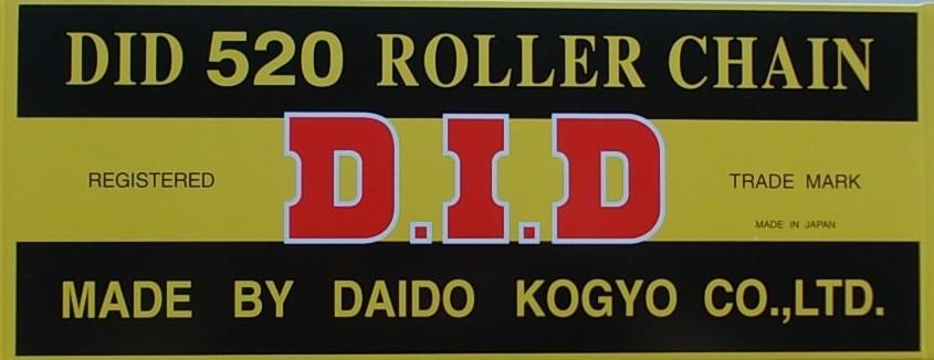 520 S silniční+enduro řetěz D.I.D. - 1 článek