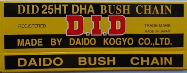 25 HT - rozvodový řetěz D.I.D.