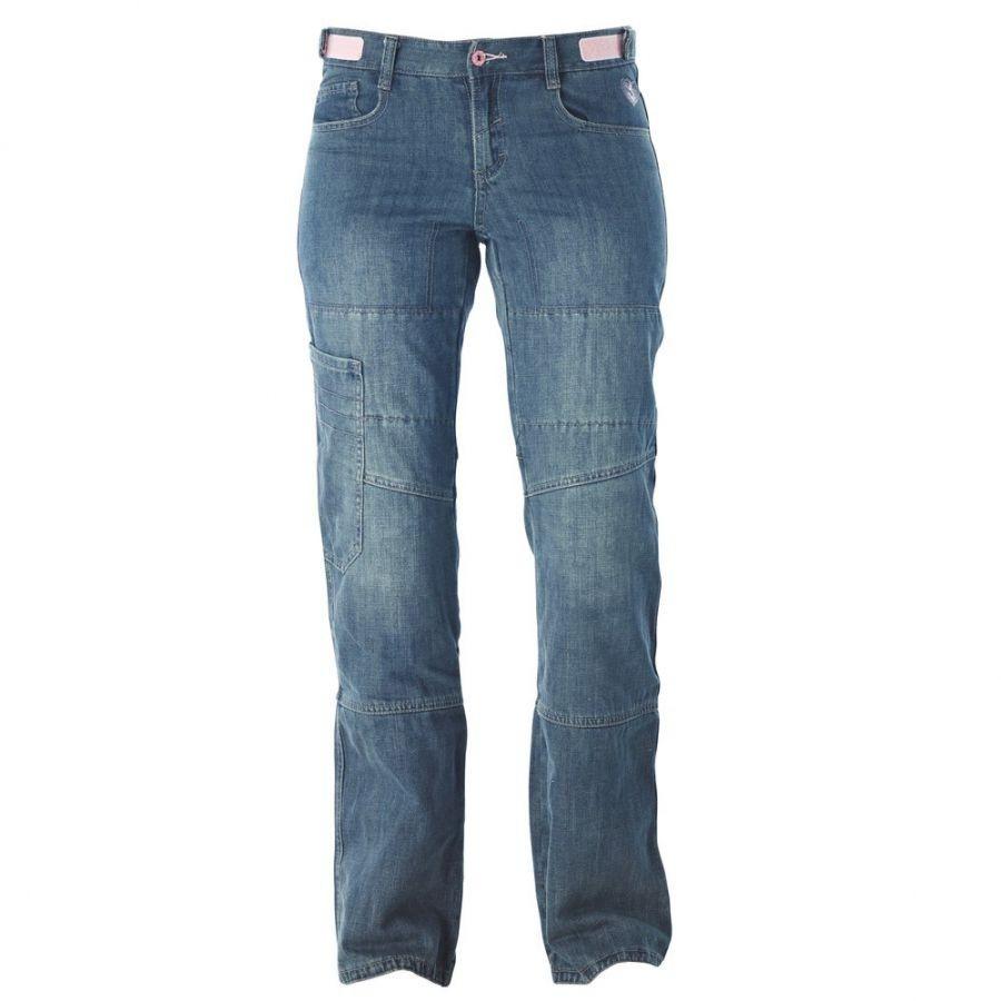 OXYD E4532F - dámské modré jeans moto kalhoty IXON - L