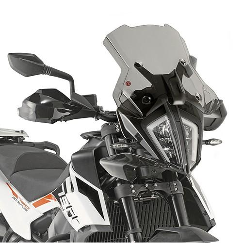 7710DK kouřové plexi KTM 390 / 790 Adventure / R  (19-20)