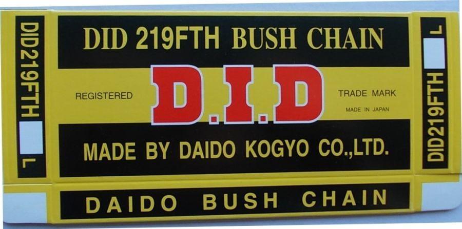 219 FTH - rozvodový řetěz D.I.D.