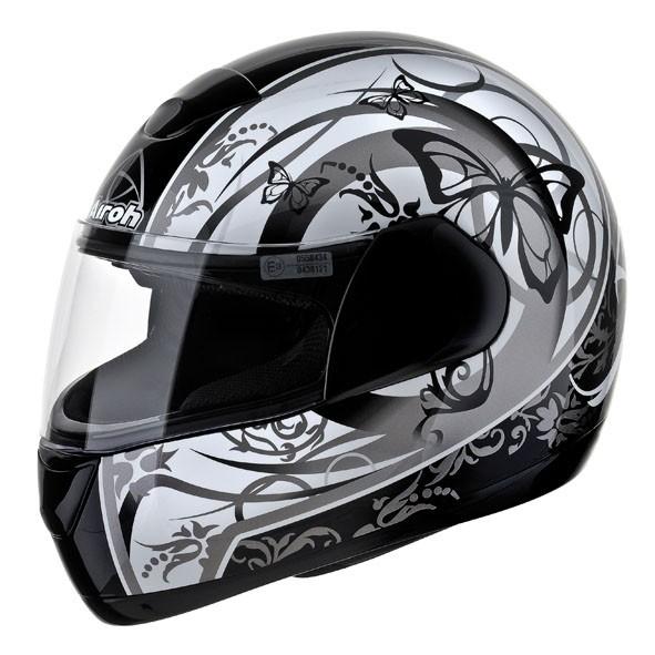 SPEED FIRE BUTTERFLY SPBT17 - integrální šedá helma Airoh XXL