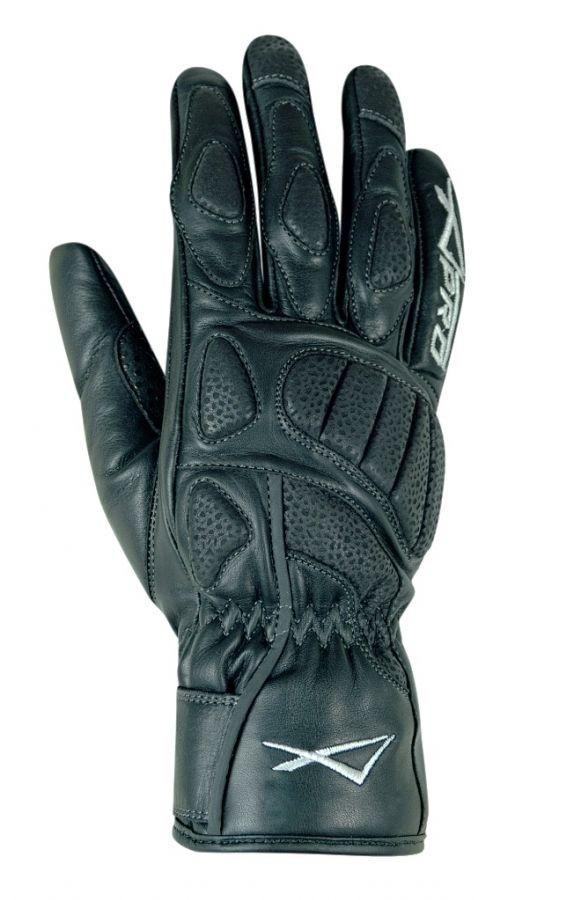 NOVA LADY - dámské černé moto rukavice A-pro L