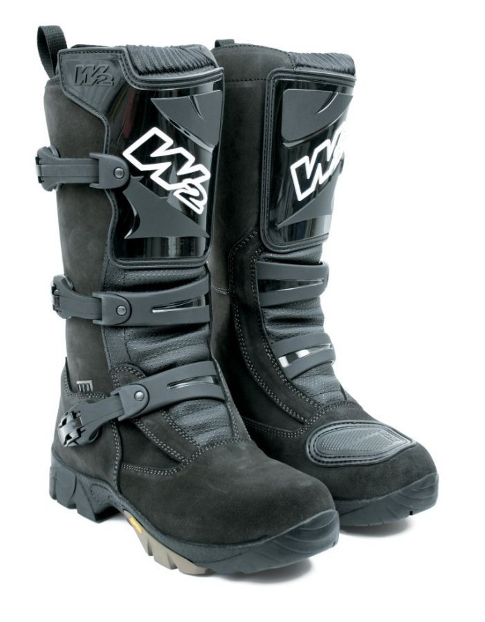 4-DIRT Adventure hnědé moto boty W2 BOOTS 39