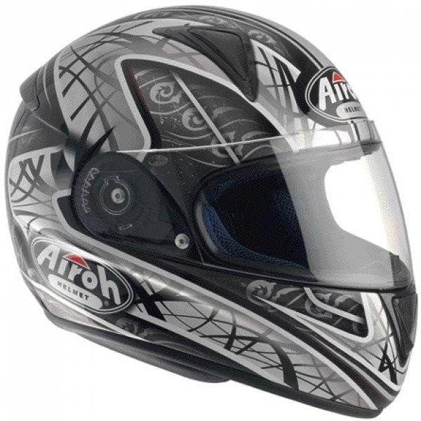 LEOX TRIBAL LXT16 - integrální šedá  helma Airoh XL