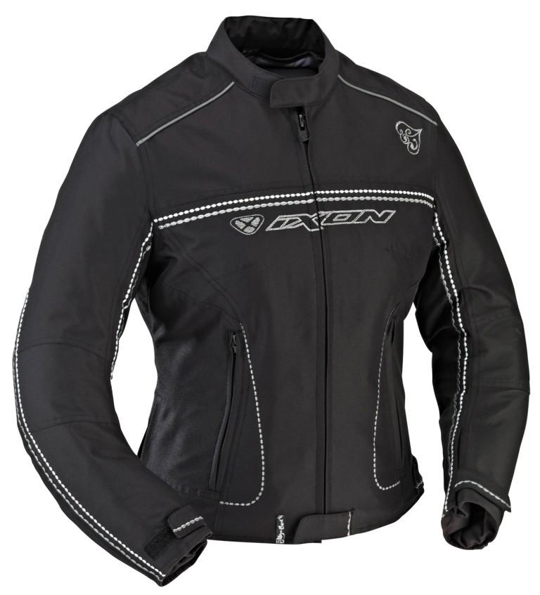 DIVA SPORT 1001 - dámská černá moto bunda IXON - S
