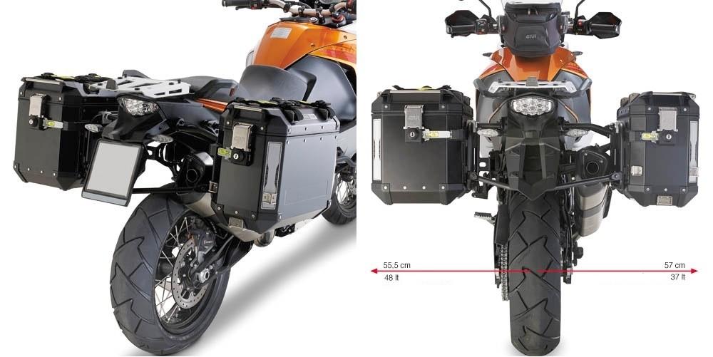 KL7705CAM nosič bočních kufrů KTM 1050/1090/1190/1290 Adventure/Super Adventure (13-19)