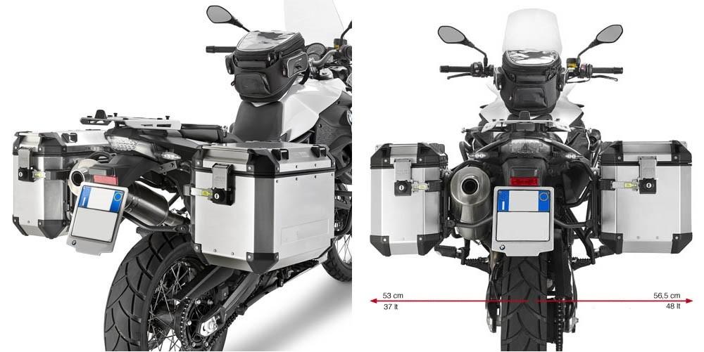 KL5103CAM nosič bočních kufrů BMW F 650 / 700 / 800 GS (08-17)