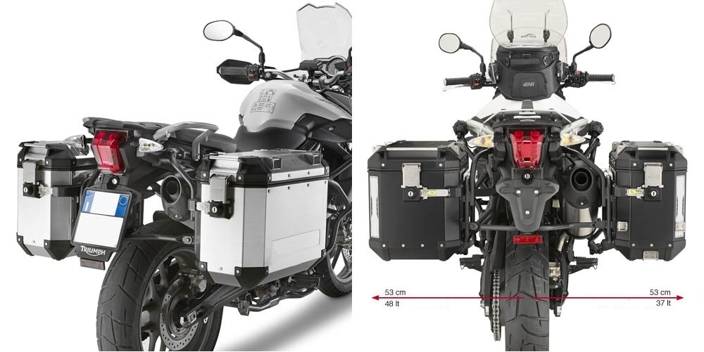 KL6401CAM nosič bočních kufrů TRIUMPH TIGER 800 / 800 XC / 800 XR (11-17)
