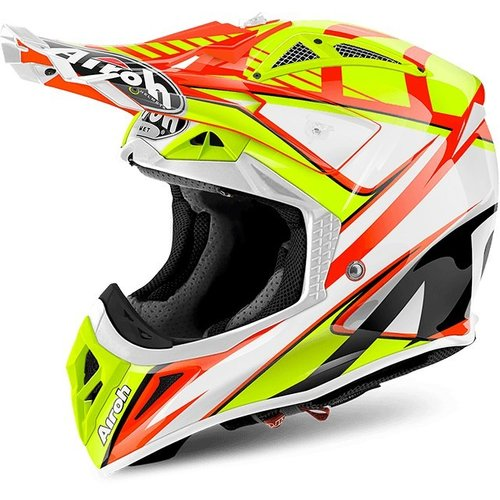 AVIATOR 2.2 DOUBLE AV22DB32 - off-road helma Airoh